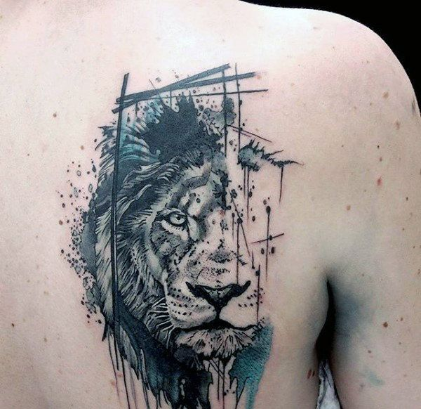 600x582 80 Most Amazing Lion Tattoo Design Pictures And Images