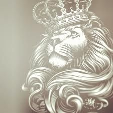 225x225 Lion With Crown Tattoo Crown Tattoos Lions, Crown
