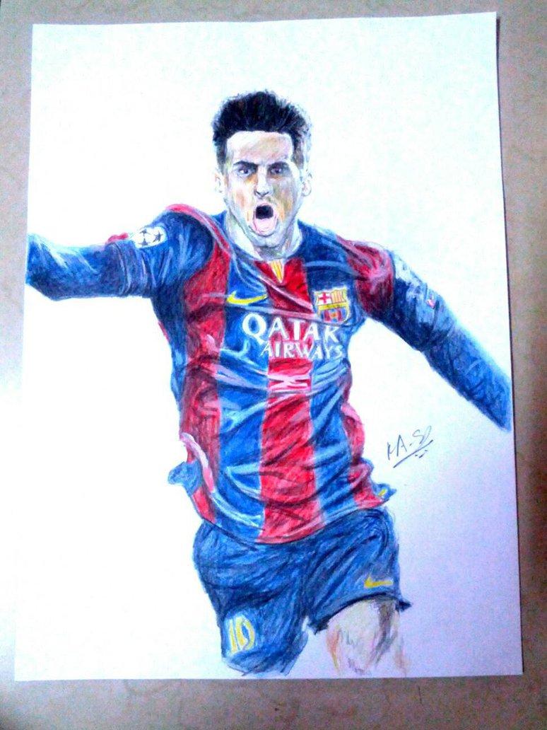 774x1032 Lionel Messi By Kaustubh44