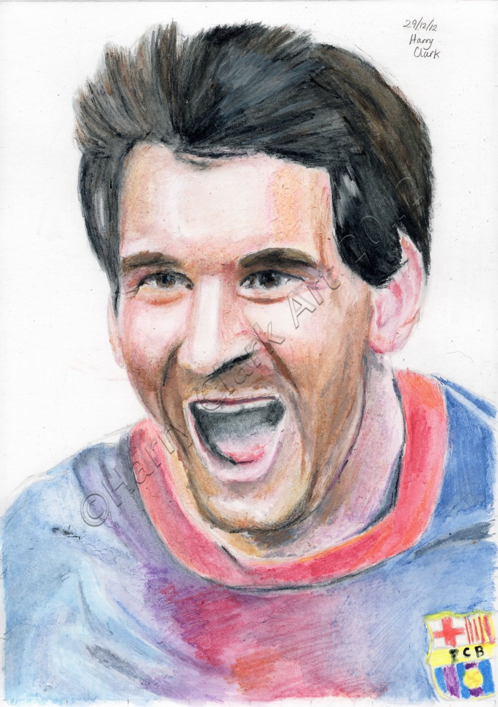 1024x1453 Messi By Rj700