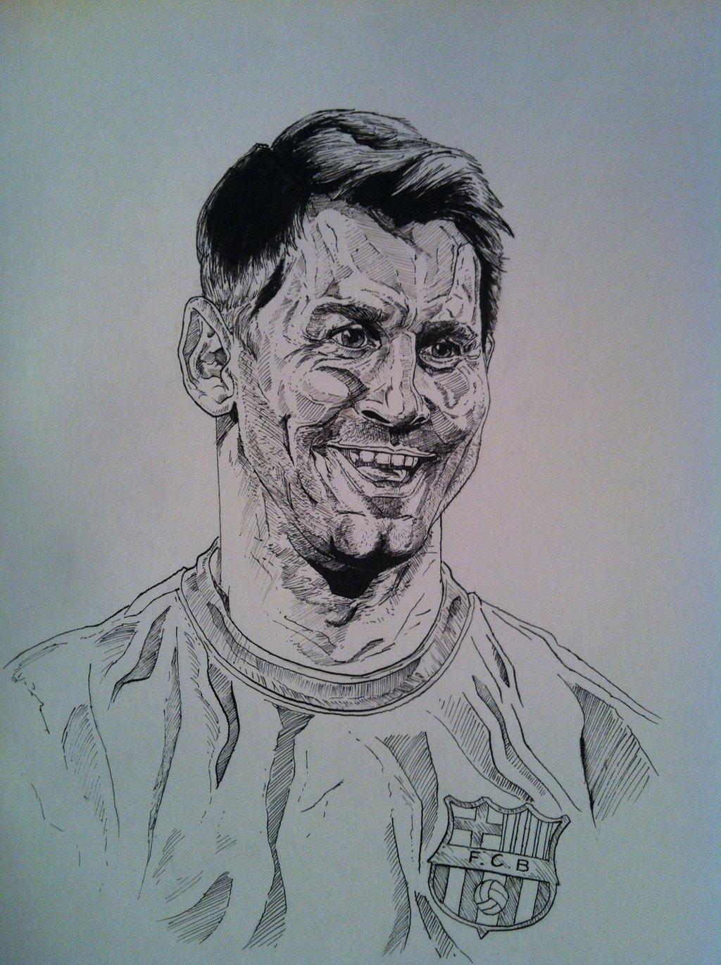 1024x1371 Lionel Messi By Dazamir13