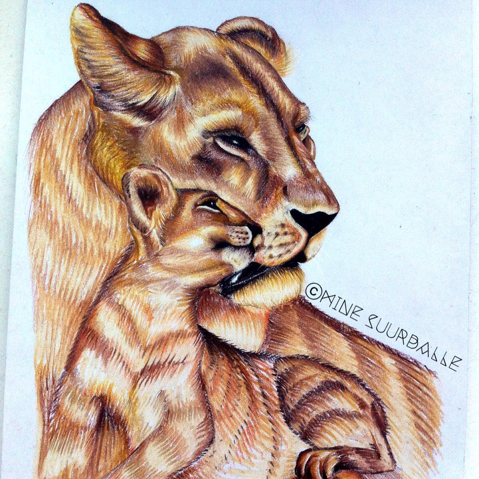 960x960 Lioness And Cub Tattoo Tattoo, Body Art And Tatting