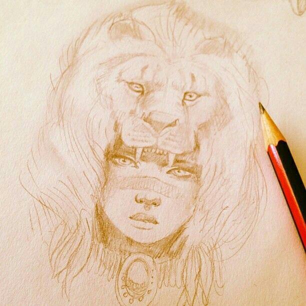 612x612 Lioness Headdresses! Art Tips And Tricks