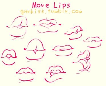 372x303 Puffy Lips Is What You Like, Admit It Art Tut Lips