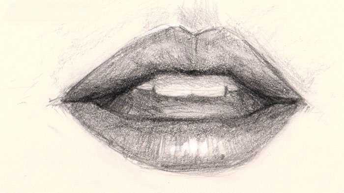 700x394 How to draw lips