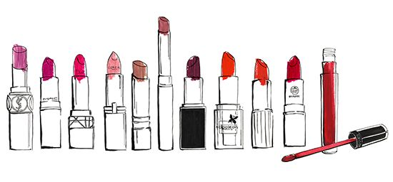 Lipstick Drawing at GetDrawings | Free download