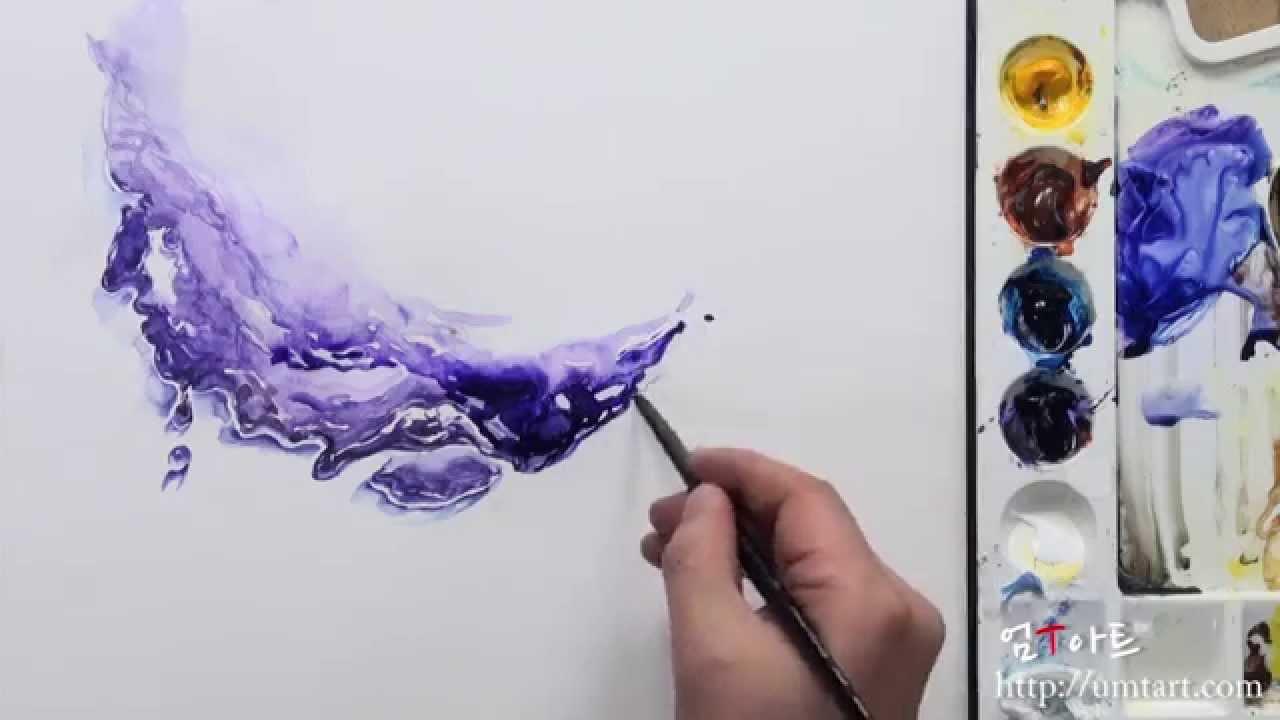 1280x720 How To Draw Liquid By Um Kyungho