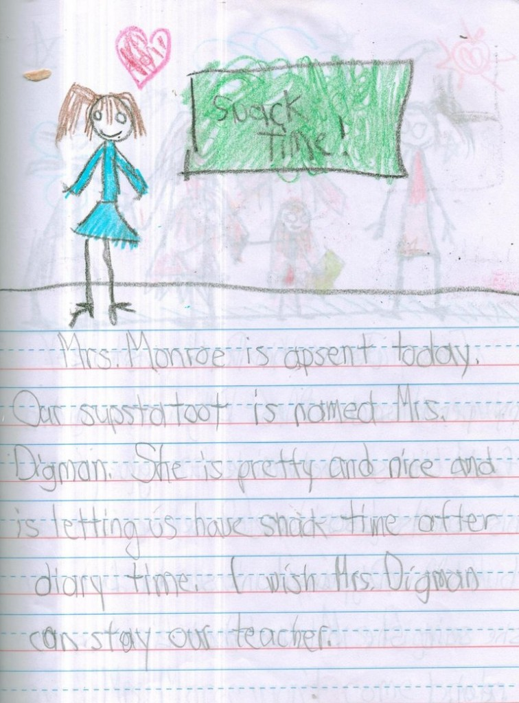 756x1024 11 Pictures Drawn By A Girl Who Had An Imaginary Friend. The Last