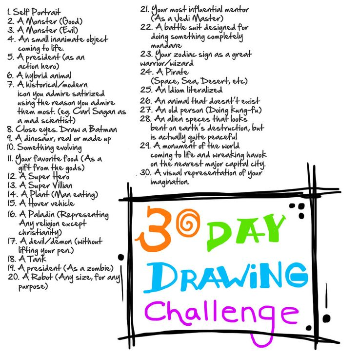 736x727 39 Best Daily Art Challenges Images On Drawing Ideas