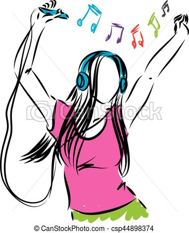 listening to music drawing at getdrawings com free for personal rh getdrawings com playing music clipart play music clipart