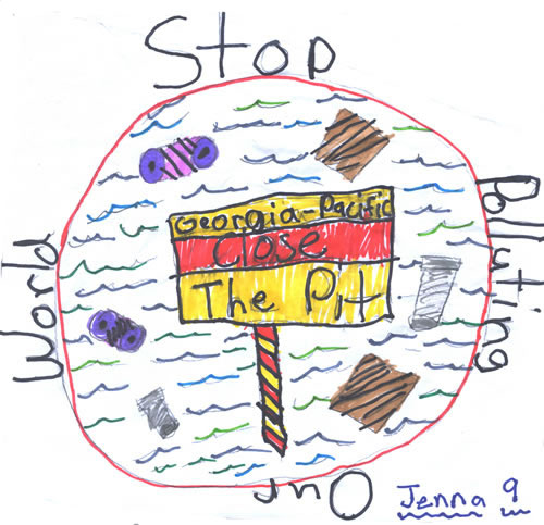 500x483 Stop Pollution Drawing Kids Drawings