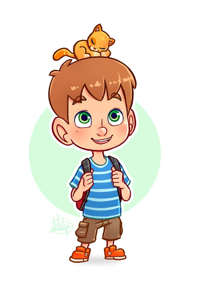 Little Boy Cartoon Drawing at GetDrawings | Free download