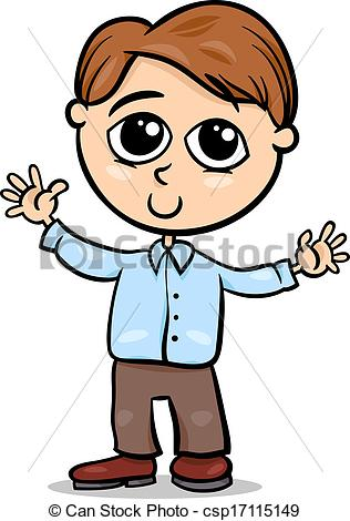316x470 cute little boy cartoon illustration cartoon illustration eps
