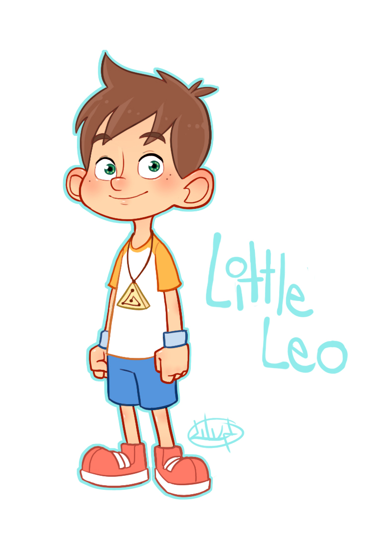 769x1078 Little Leo Color By Luigil Idea Characters