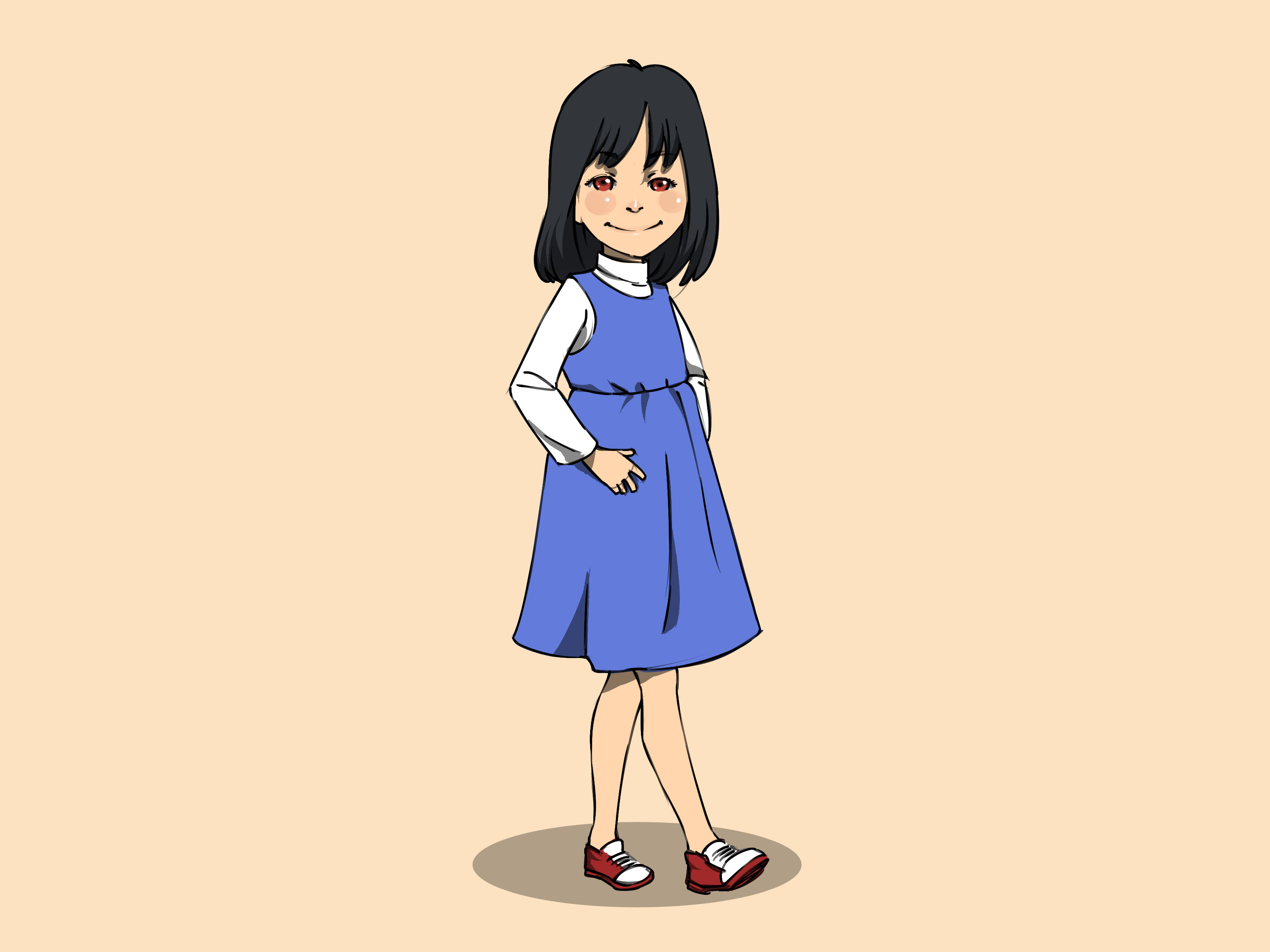3200x2400 How To Draw A Little Girl (With Pictures)