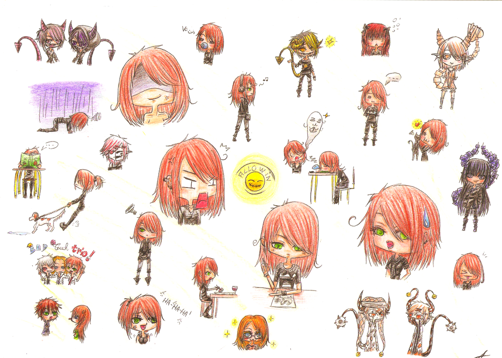 1024x731 Little Drawing By X Chibi Chan X
