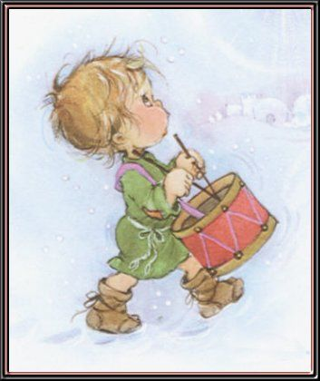 353x420 Little Drummer Boy One Of My Fav Christmas Song Come They Told