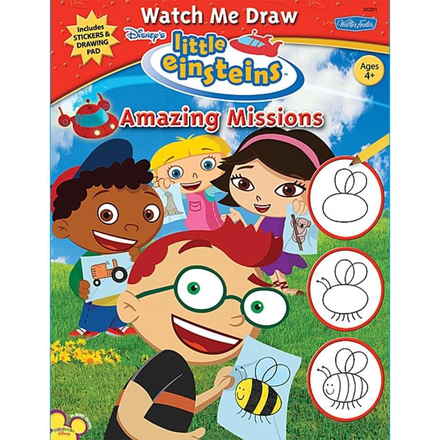 900x900 Watch Me Draw Little Einsteins Amazing Missions