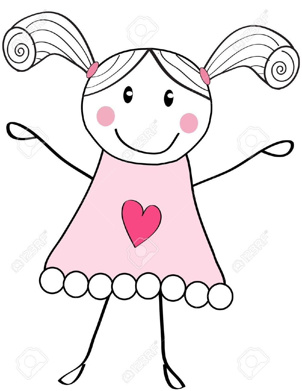 1004x1300 Image Result For Cute Little Girl Sketches Crafts