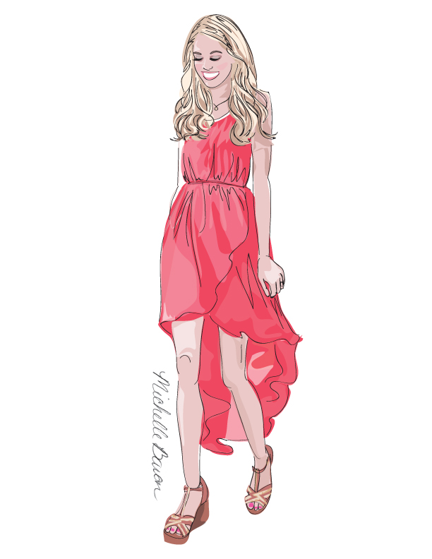 612x792 Little Red Dress Amp Michelle Baron Giveaway!