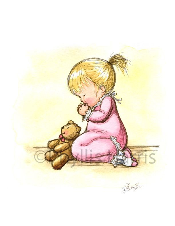 612x792 Little Girl Praying The Faith Of A Child