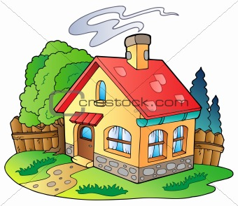 340x294 Image 3687566 Small Family House From Crestock Stock Photos