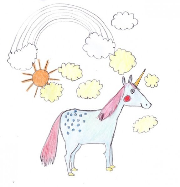 575x597 Little Kid Drawing Wpfaster
