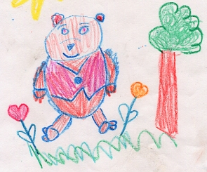 295x245 Kids' Drawings Of The Month