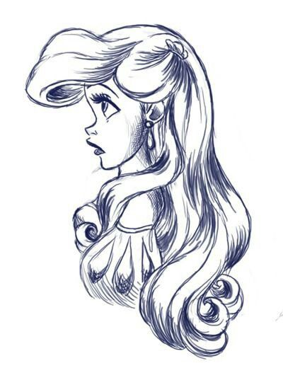 400x520 Little Mermaid Drawingart Mermaid, Ariel And Draw