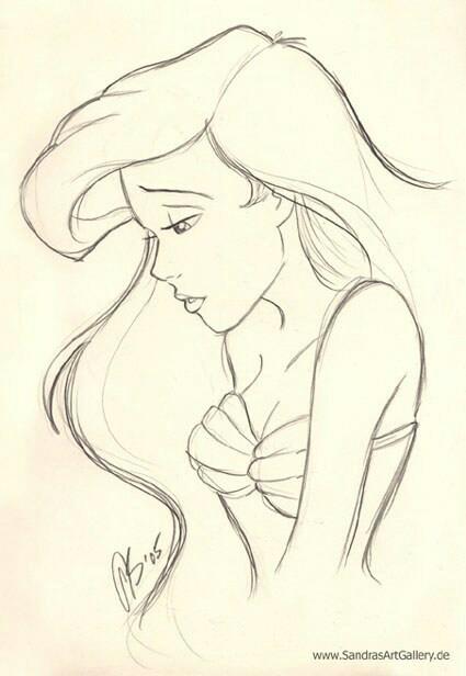 425x616 The Little Mermaid Disney Mermaid, Drawings