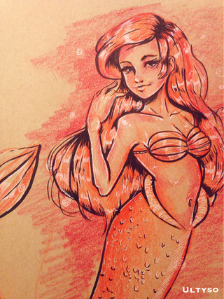 320x427 Littlemermaid Drawings On Paigeeworld. Pictures Of Littlemermaid