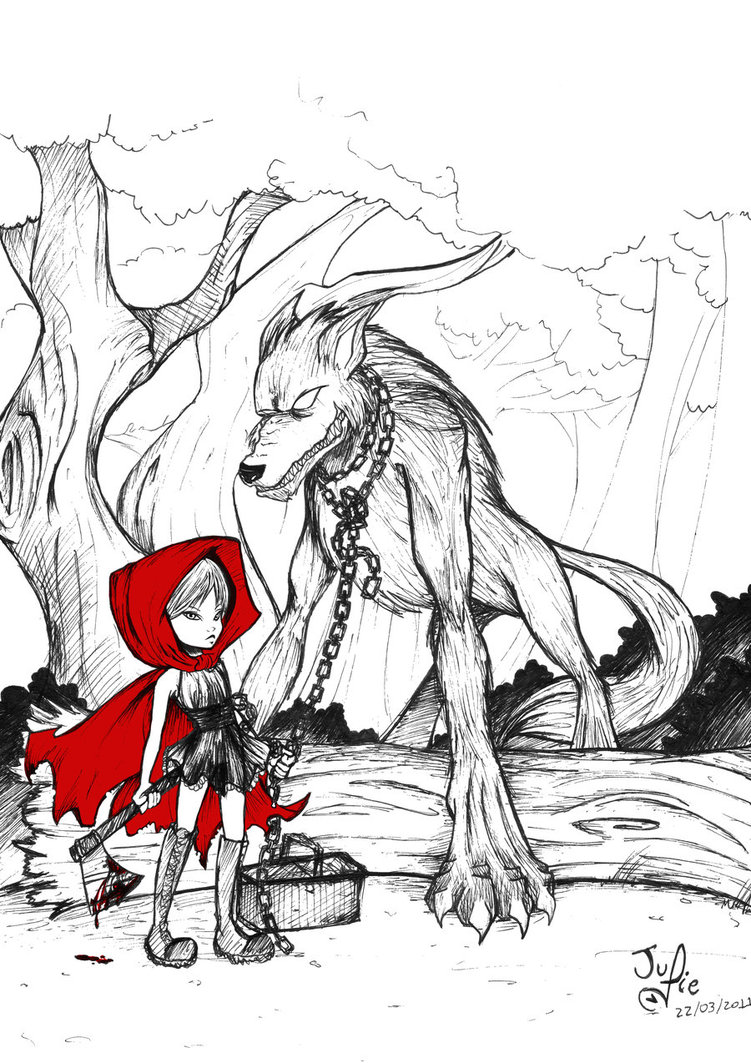 751x1063 Little Red Riding Hood By Juliefofisss