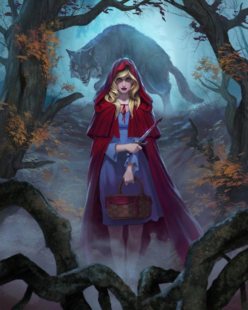 800x1000 Little Red Riding Hood Lvl1 By Diegogisbertllorens