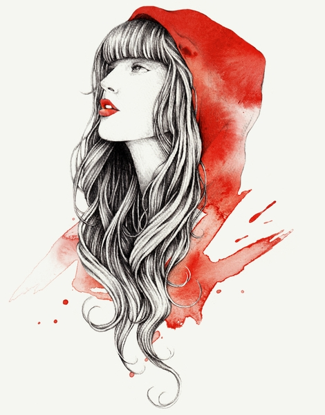 470x600 Little Red Riding Hood T Shirt Designs By Artists Worldwide