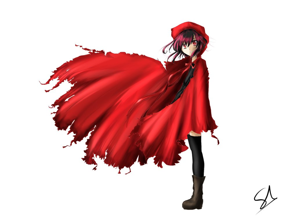 1024x745 My Little Red Riding Hood~(No Background)by Shiru~ By Shiru Yuuki