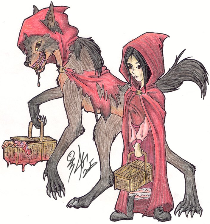 705x750 Little Red Riding Hood By Nypd