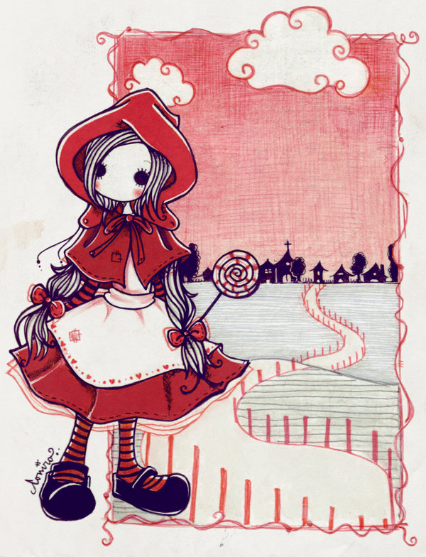 600x784 Little Red Riding Hood. By Coniro