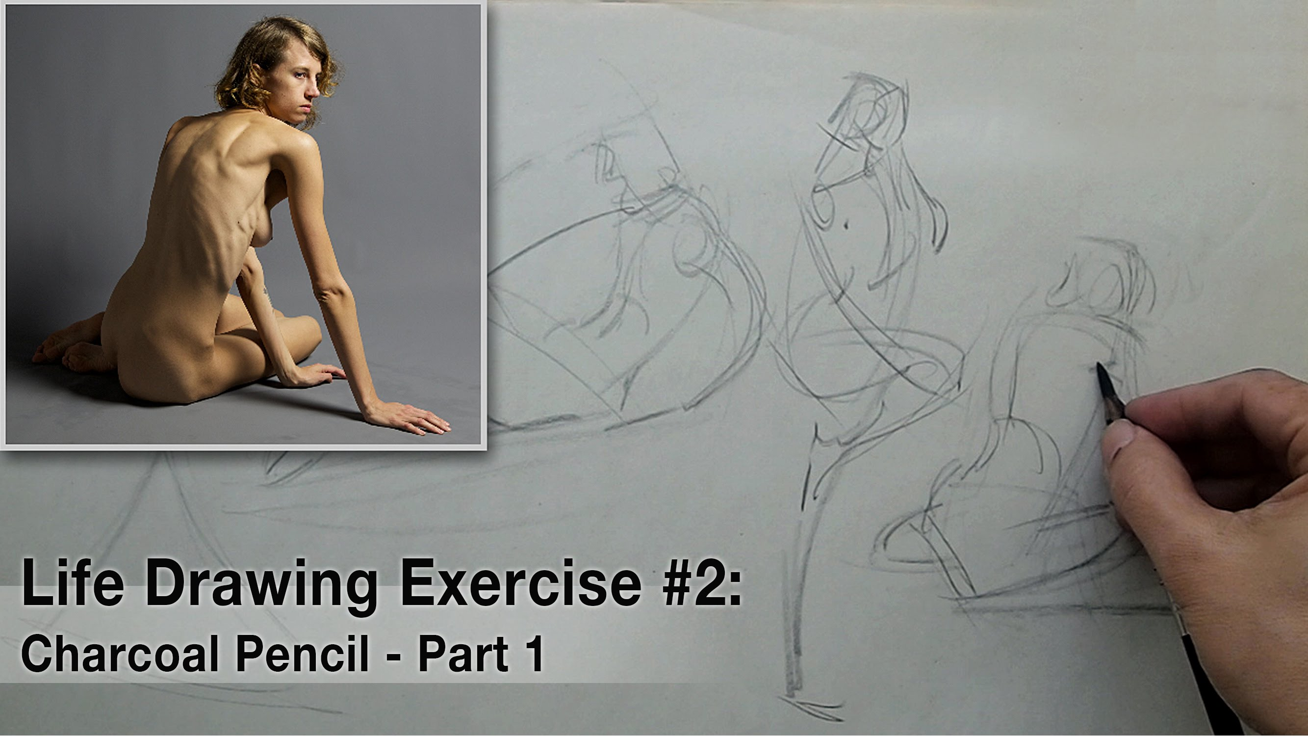 2667x1500 Life Drawing Exercise