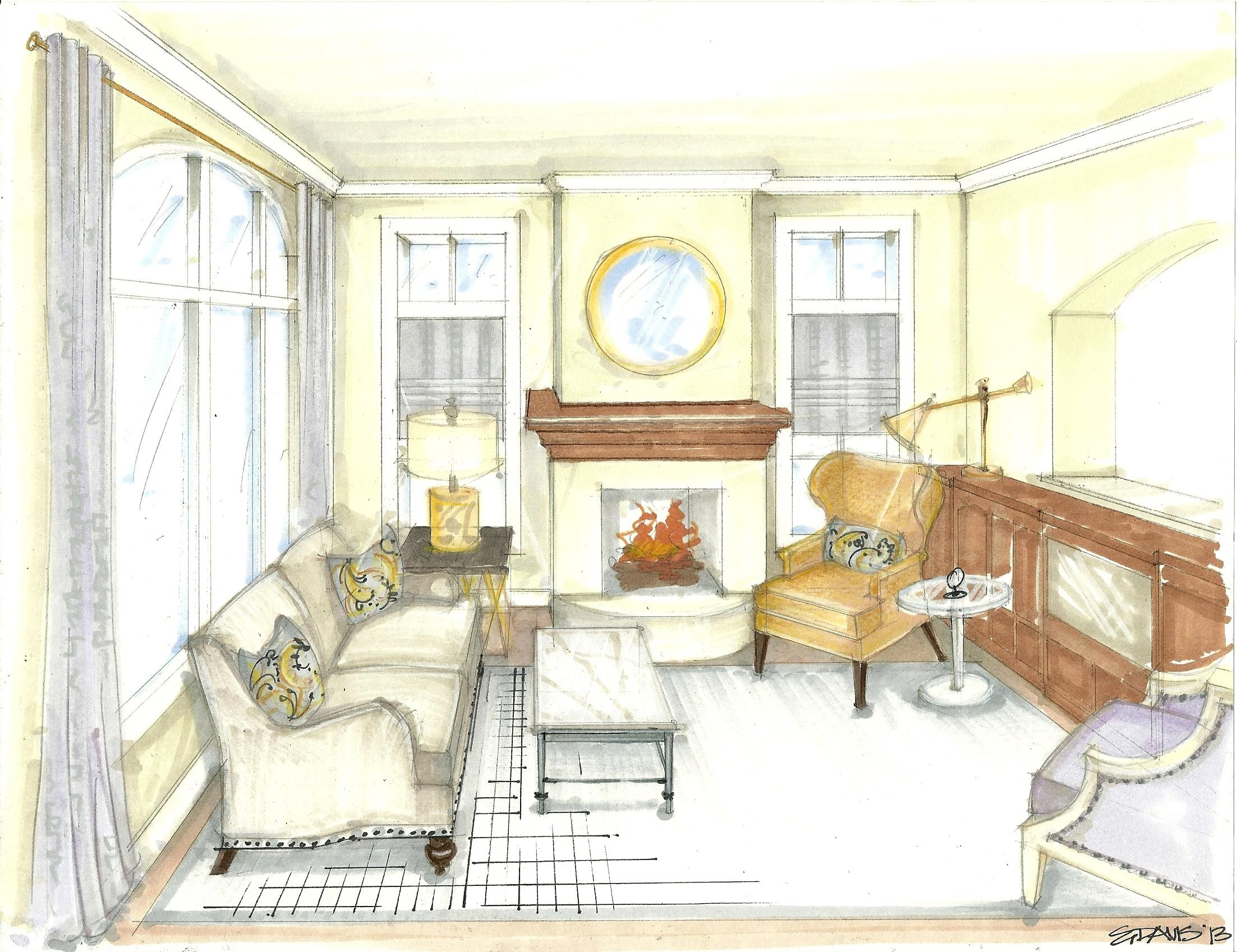 2205x1698 Image Result For Living Room Drawing Perplex