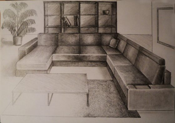 560x394 Living Room Perspective Drawing Grab Decorating