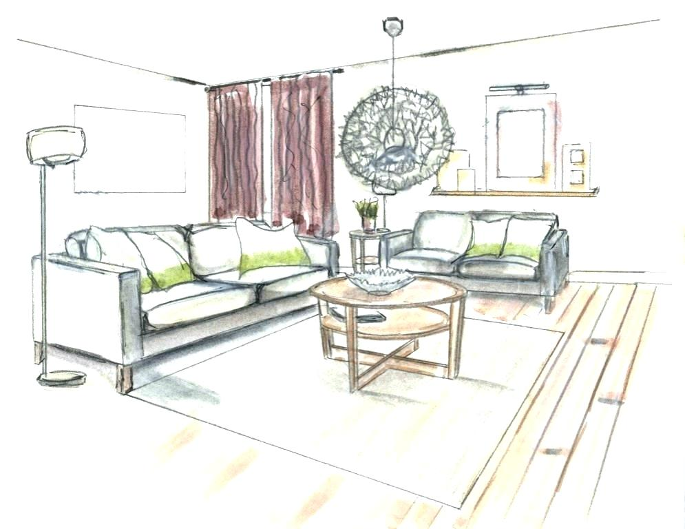 995x768 Living Room Perspective Living Room Study By Living Room