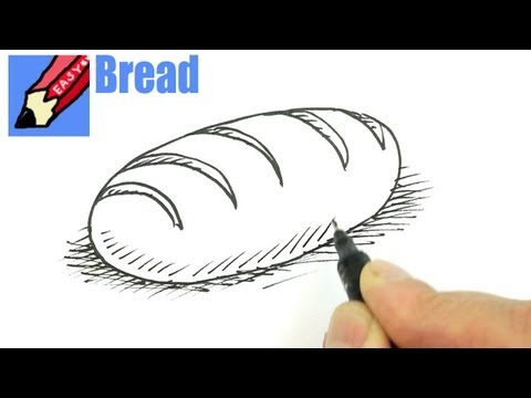 480x360 How To Draw A Loaf Of Bread Draw Stuff Real Easy Shoo Rayner