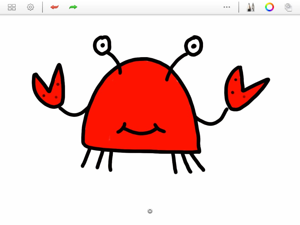 1024x768 How To Draw A Cartoon Crab