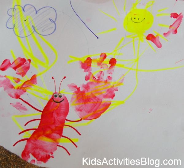 600x549 Handprint And Footprint Lobsters