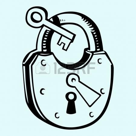 450x450 Key Lock Open Icon Vector Illustration Design Graphic Draw Royalty