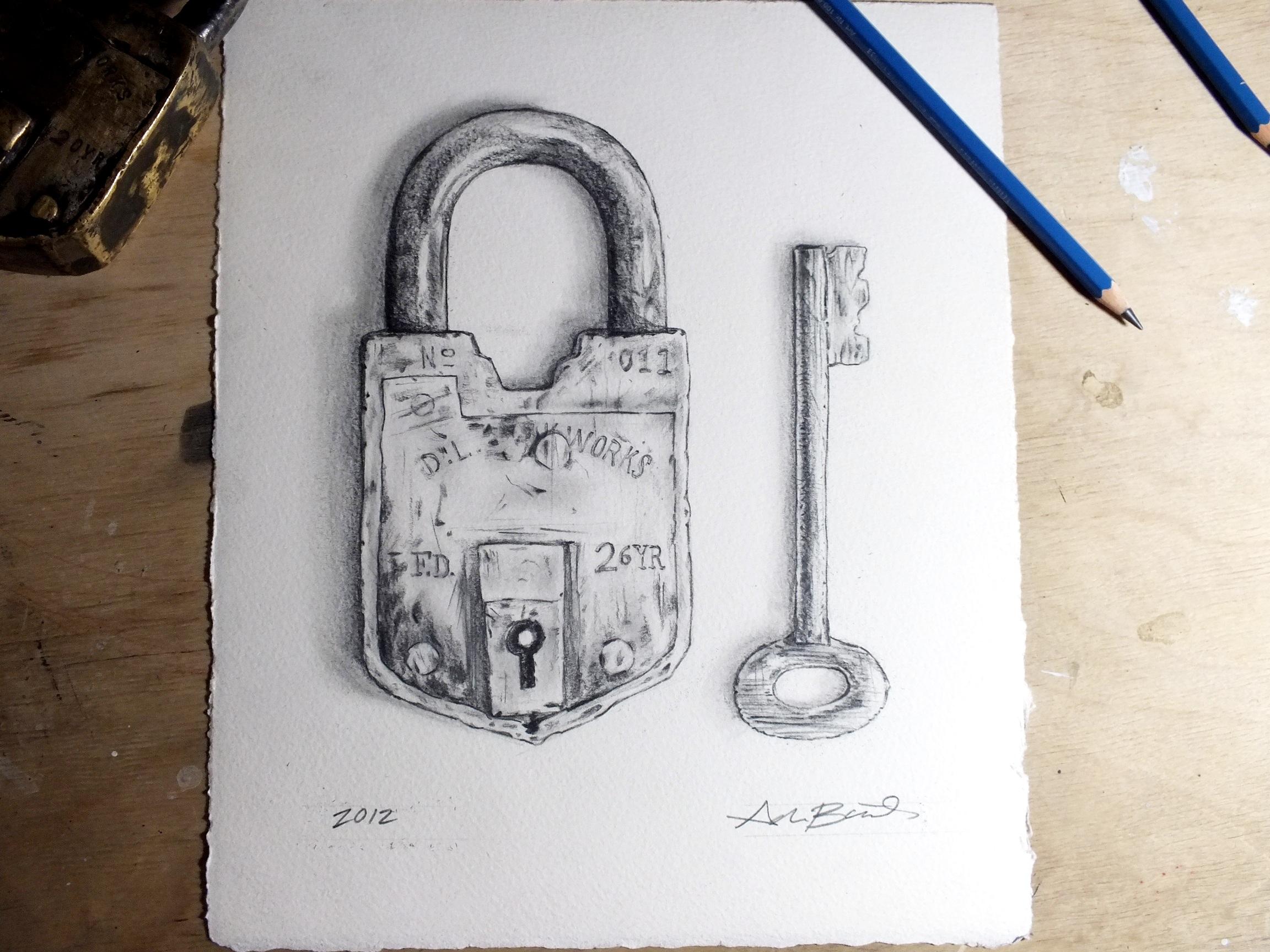 2304x1728 Vintage Lock B. 1985