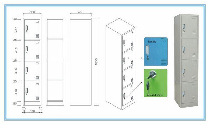 700x417 Steel Wardrobe,steel Closetcheap Stainless Steel Locker