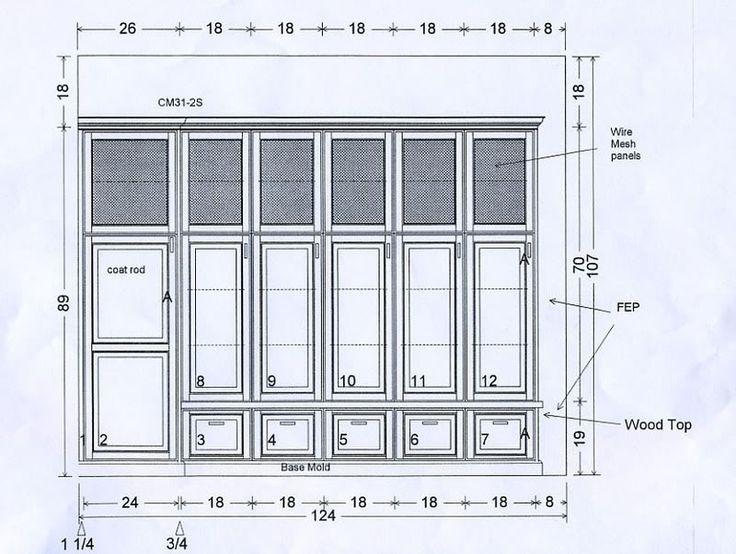 736x554 Best 25 Diy Storage Locker Plans Ideas On Cub Mudroom