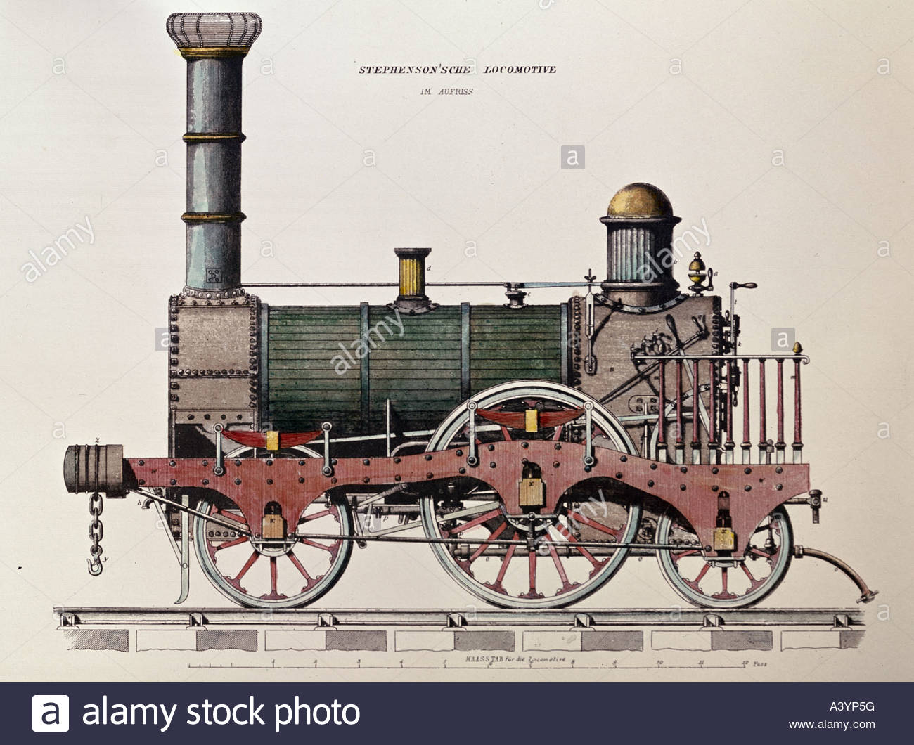 1300x1060 Drawing Stephenson Locomotive Stock Photos Amp Drawing Stephenson