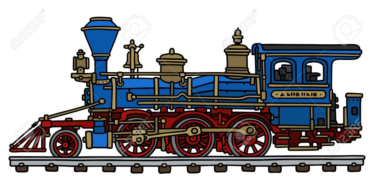 Locomotive Drawing at GetDrawings | Free download